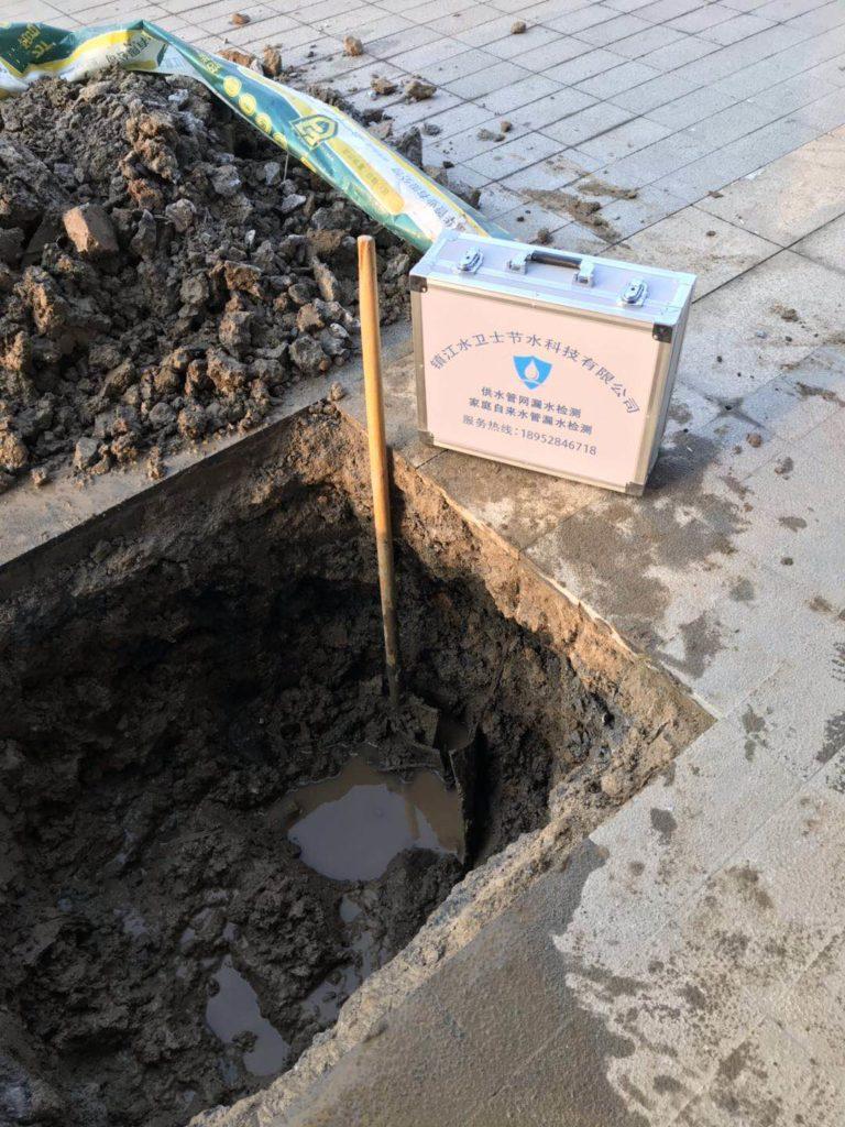 镇江漏水检测案例