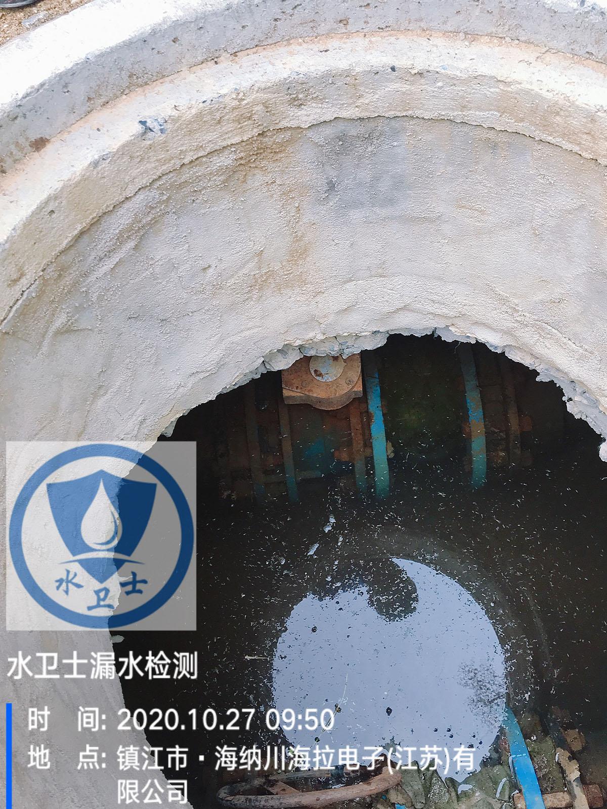 镇江喷淋管道测漏案例