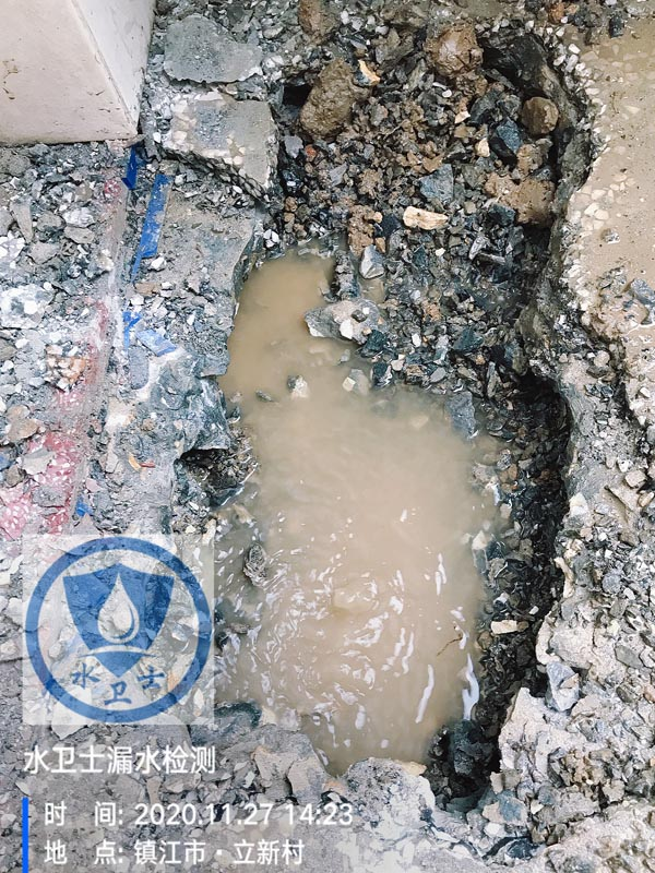 扬中漏水检测案例